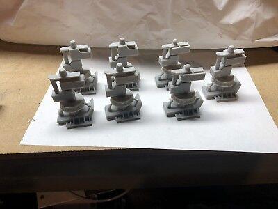 Star Wars Legacy Millennium Falcon Parts Landing Gear Complete Set 3D printed !!