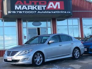 2012 Hyundai Genesis 3.8, Leather, Sunroof, WE APPROVE ALL CREDI