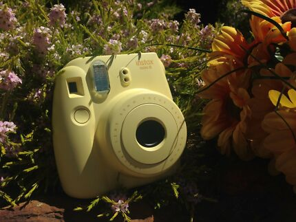 Instax Yellow Mini 8 instant camera