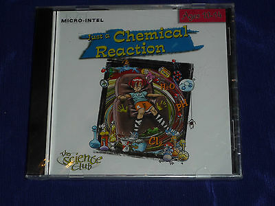 Just a Chemical Reaction- The Science Club Ages 10-14 WIN/MAC (PC, 2001) - Chemical Reaction Games