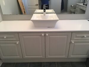 REDUCED TO GO  - Bathroom vanity and makeup counter