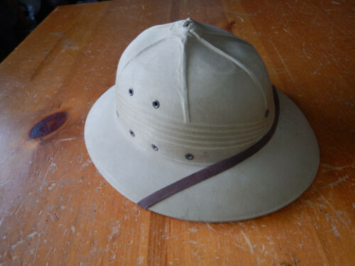 VINTAGE 1948 INTERNATIONAL HAT CO PITH HAT HELMET US MILITARY