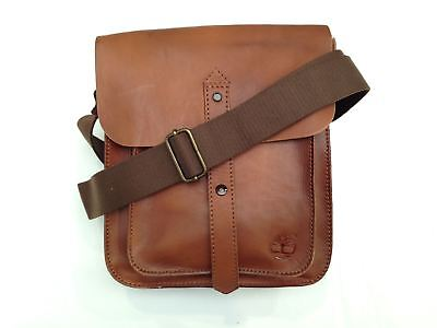 Timberland Herrentasche Wingate Man Small Items Leder Braun M3543-212