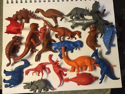 Vintage 1960s original MPC RARE Dinosaur Prehistoric animal Playset group Marx