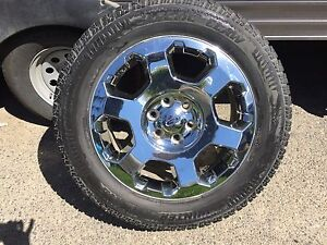 "20"" F150 rims and tires"