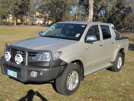 2013 Toyota Hilux Ute City North Canberra Preview