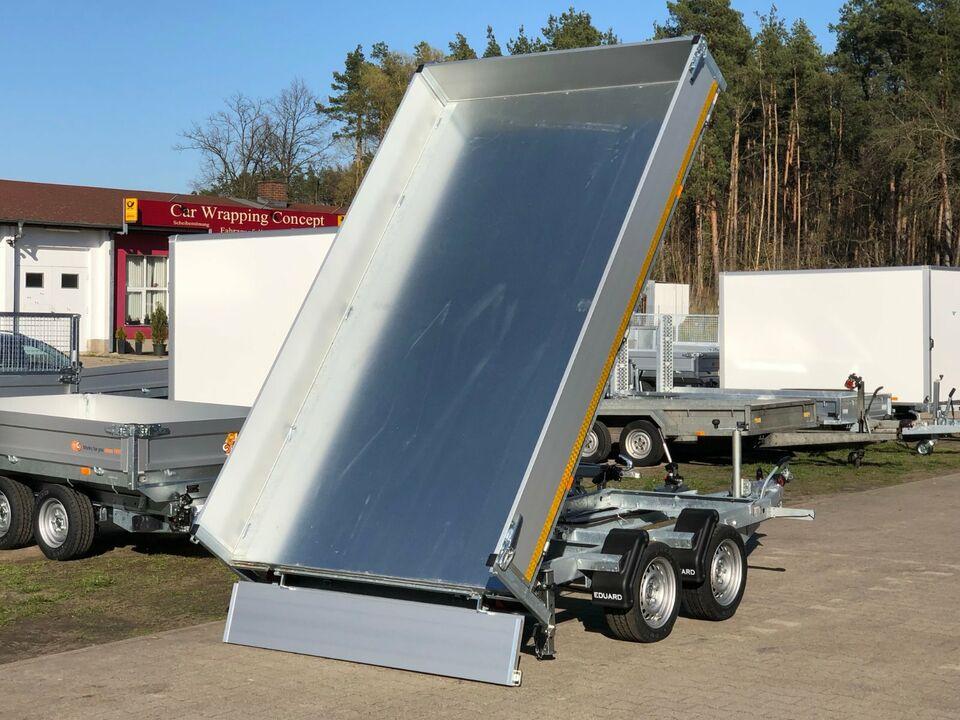 ⭐️ Anhänger Eduard Kipper 2700 kg 311x180x30 cm Rampen Neu 63 in Schöneiche bei Berlin