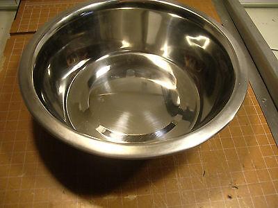 2 QUART LARGE STAINLESS STEEL DOG CAT PUPPY KITTEN PET FOOD BOWL DISH 2Qt
