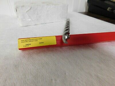 Dormer Taper Length Drill Bits 0.4330 Drill Point Angle 130 Qty 2 0147283