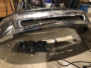 Dodge bumper and tow hooks
