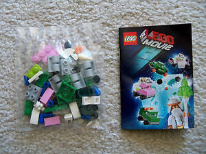 The-LEGO-Movie-Rare-Emmet-Wyldstyle-Vehicles-Mini-Sets-w-Instructions