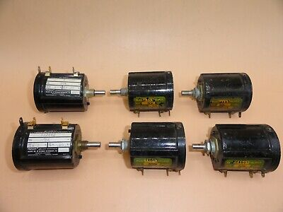 Beckman Helipot Precision Potentiometer Lot Of 6