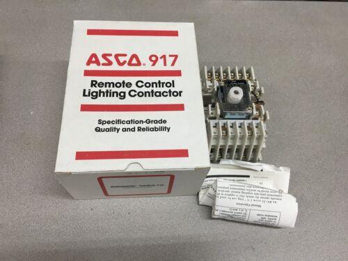 NEW IN BOX ASCO 8 POLE CONTACTOR 91782031