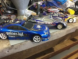 HPI Traxxas and OFNA road/drift rc cars