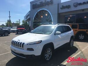 2017 Jeep Cherokee Limited   4x4   SUNROOF   HEATED/VENTED SEATS