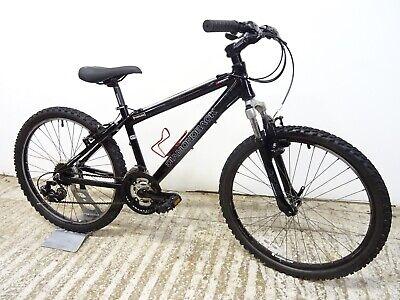 "Diamondback Outlook 24"" Boys Kids Hybrid Mountain Bike 14"" Alloy Serviced GC"