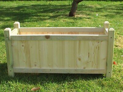 Brand New! Hand made good quality solid Large garden planter.