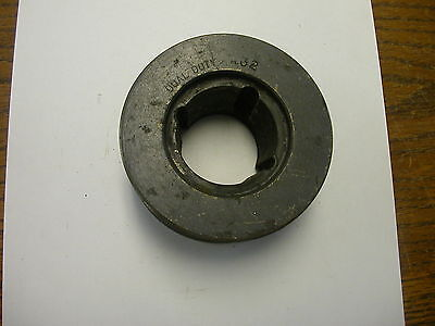 Dual Duty A32 Sheave V Belt Pulley Double Groove 3.95 Od 1210 Taper Lock