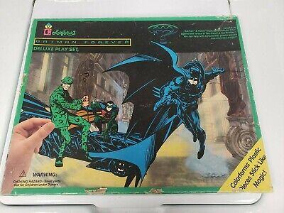 F Vintage Colorforms Batman Forever Playset