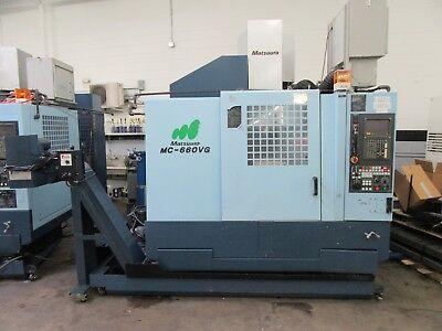 Matsuura Mc-660vg 5-axis Cnc Vertical Machining Center