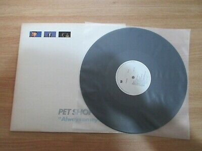 Pet Shop Boys - Always On My Mind Rare Korea Orig Single LP 1988