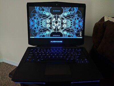 Alienware 14 i7-4700MQ GTX 765M 16GB RAM 256GB SSDx2 Blu Ray Intel 7260 wifi