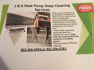 Heat pump Deep Cleaning  Services