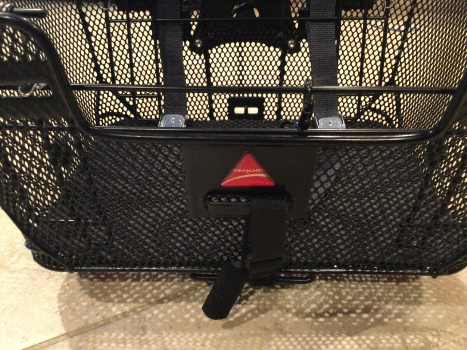 Axiom Pet Bicycle Basket with Rack & Handlebar Mounts: Black (New - 109.99 USD)