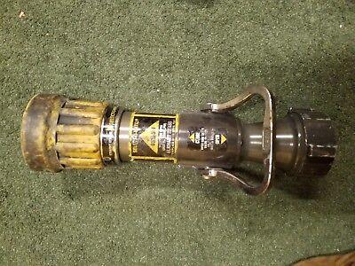 Elkhart Brass Select-o-matic Dsm-30f Firefighting Fire Nozzle