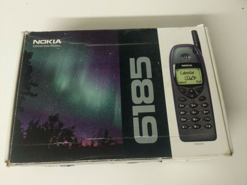 Nokia 6185 Cellular Phone w/ Charger Original Box