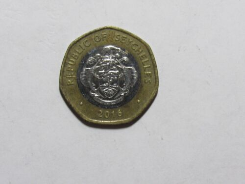 Seychelles Coin - 2016 10 Rupees - Circulated