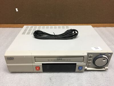 Sanyo Srt-7072 72h Real Time Cassette Recorder Time Lapse No Remote Tested