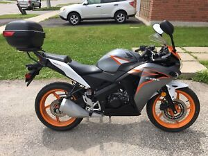CBR 125 & 250 Rear Rack and Top Case 2011+