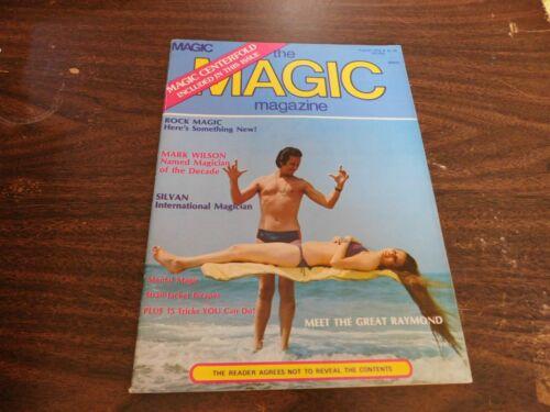 The Magic Magazine Of Magicians 1976 August Mark Wilson
