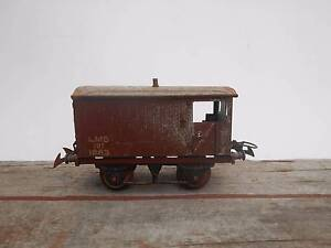 COLLECTIBLE HORNBY 0 GAUGE EARLY MODEL TRAIN GUARDS VAN Willoughby East Willoughby Area Preview