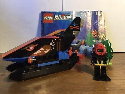 Lego Aquazone 6135 Spy Shark 100% Complete W/ Instructions Vintage