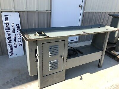 12 Atlas Craftsman Metal Lathe Cabinet Bench Stand Commercial Fits 54 Bed