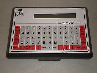 Maple Systems Map522b-002 Optomux Data Entry Terminal Display Operator Interface
