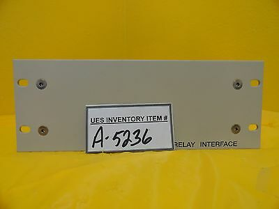 Varian Semiconductor Equipment E11288510 Relay Interface Rev. A Used Working