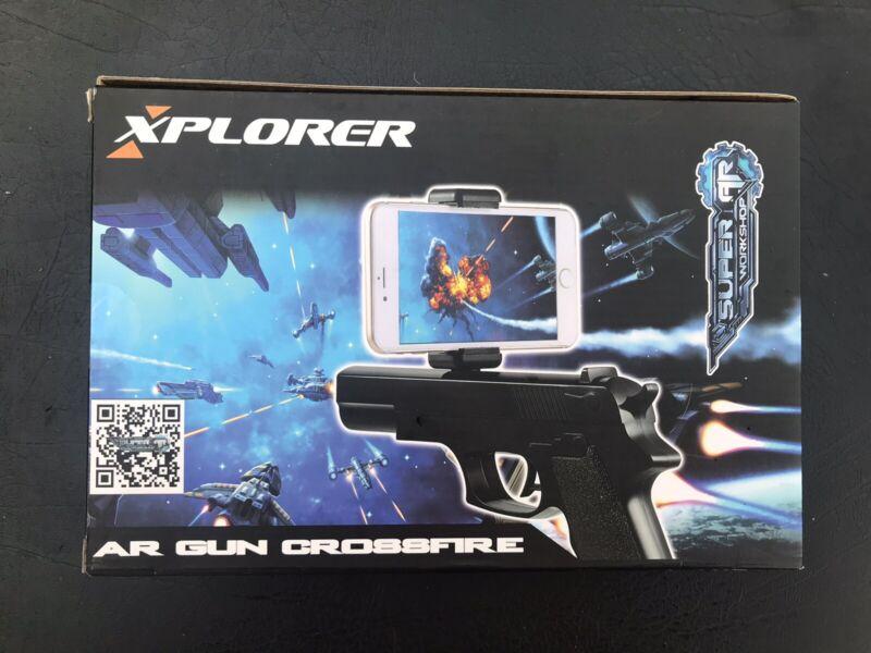 Xplorer AR Augmented Reality Gun Crossfire, Smartphone Gaming System