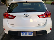 Toyota Corolla Ascent 2013 - toyota warranty untill Sep 2018 East Perth Perth City Area Preview