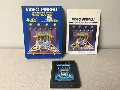 Atari 2600 - Video Pinball - CIB