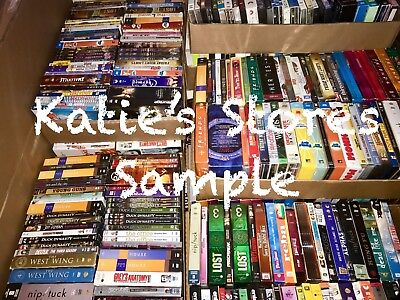10 Full Tv Show Seasons DVD Lot Assorted Box Set Top A List Titles! $200+ Value!