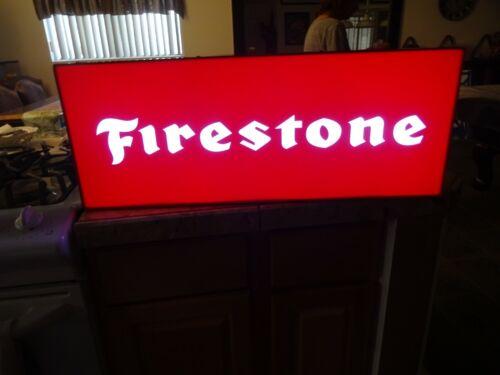 Firestone Lighted Sign