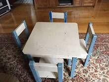 Table and Chairs set (Kids) Marrickville Marrickville Area Preview