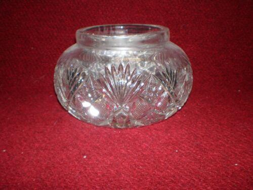 Antique Art Deco Cut Glass Bowl
