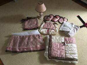 Princess nursery bedding