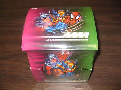 Marvel Motion Trading Cards Box