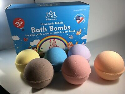 6 Bath Bombs with Turtles Ninja Toys Inside for Kids – Natural & Safe Fizzies](Toys For Turtles)