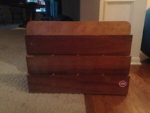 FS Vintage Wood Letter Rack